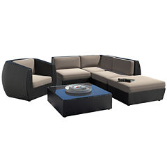 Seattle 6 Piece Sectional