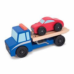 Melissa & Doug® Flatbed Tow Truck