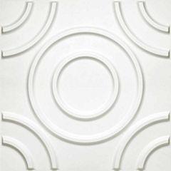 Donny Osmond Circles 19.6x19.6 Self Adhesive Wall Tile - 10 Tiles/26.70 Sq Ft.