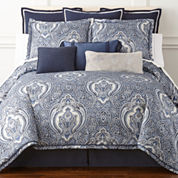 Royal Velvet Modena 4-pc. Comforter Set & Accessories