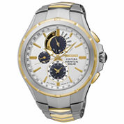Seiko Womens Silver Tone Bracelet Watch-Ssc560