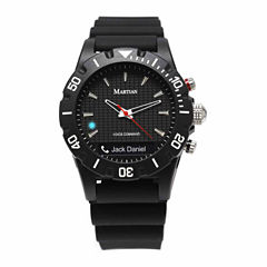 Martian Mens mVoice Envoy G10 Black Smart Watch-Mvr02eng10