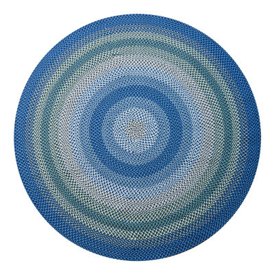 Superb Canyon Reversible Braided Indoor/Outdoor Round Rug