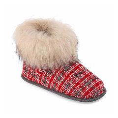 Cuddl Duds Wool Blend Bootie Slippers
