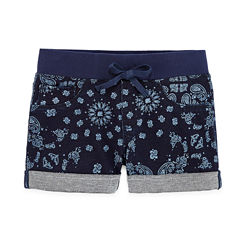 Arizona Denim Bermuda Shorts - Big Kid Girls