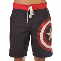 Bioworld Captain America Board Shorts