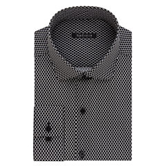 Van Heusen Wrinkle-Free Slim Fit Long Sleeve Dress Shirt