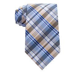 Stafford Comfort Stretch Plaid 1 Tie