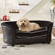 Enchanted Home Ultra Plush Panache Pet Sofa