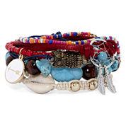 Decree® 6-pc. Friendship Bracelet Set