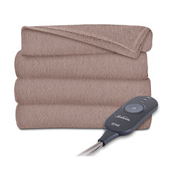 Sunbeam Slumberrest Fleece Heated Throw