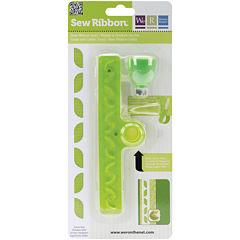 Sew Ribbon Tool & Stencil - Leaf