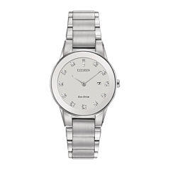 Citizen® Eco-Drive® Axiom Womens Diamond-Accent Bracelet Watch GA1050-51B