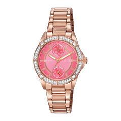 Citizen® Eco-Drive® Womens Crystal-Accent Bracelet Watch FD3003-58X