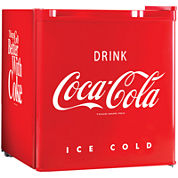 Nostalgia CRF170COKE Coca-Cola 1.7 Cubic-Foot Refrigerator with Freezer Compartment