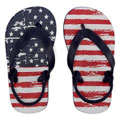 Arizona American Flag Flip-Flops