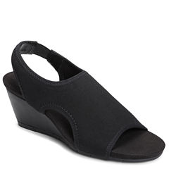 A2 by Aerosoles Coffee Cake Womens Wedge Sandals