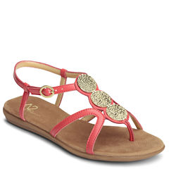 A2 by Aerosoles Country Chlub Womens Flat Sandals