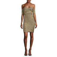 Renn Off Shoulder Bodycon Dress