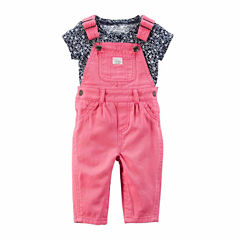 Carter's 2-pc. Overall Set-Baby Girls