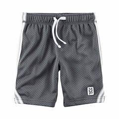 Carter's Infant Boys Grey Tierd Shorts