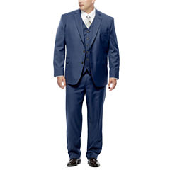 Stafford Travel Wool Blend Stretch Suit Separates- Big and Tall