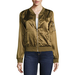 Almost Famous Bomber Jacket-Juniors
