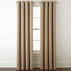 Home Expressions Pasadena Blackout Grommet-Top Curtain Panel