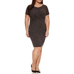 Boutique + Bodycon Dress-Plus