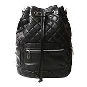Olivia Miller Nadine Quilted Drawstring Backpack