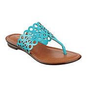 Liz Claiborne® Jenesca Cutout Sandals