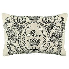 Park B. Smith® Paris Postage Tapestry Decorative Pillow