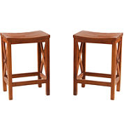 Torrington Set of 2 Backless Counter Stools
