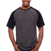 Zoo York Short Sleeve Henley Shirt Big and Tall