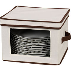 Household Essentials® Dinner Plate Storage Chest