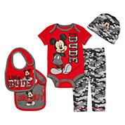 5-pc. Mickey Mouse Clothing Set - Baby Boys newborn-24m