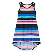 Okie Dokie Short Sleeve Cap Sleeve Maxi Dress - Toddler