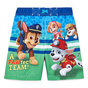 Boys Paw Patrol Swim Trunks-Toddler