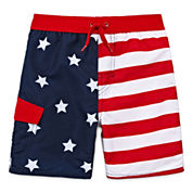 Arizona Boys Pattern Trunks-Toddler