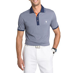 IZOD Golf Short Sleeve Solid Polo Shirt