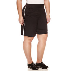 Made For Life Modern Fit Woven Bermuda Shorts-Plus
