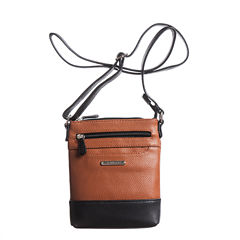 Stone And Co Ns Slip Pocket Pebble Leather Mini Crossbody Bag