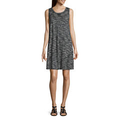 Liz Claiborne Sleeveless Swing Dresses
