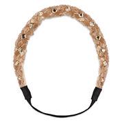 Decree® Blush Stone Embellished Head Wrap