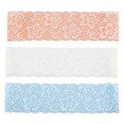 Carole Lace 3-pc. Headwrap Set