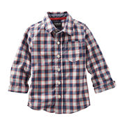 OshKosh B'gosh® Checkered Button-Front Shirt - Toddler Boys 2t-5t