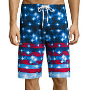 Burnside® Star-Stripe Board Shorts