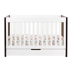 Babyletto Mercer 3-In-1 Convertible Crib - Espresso and White