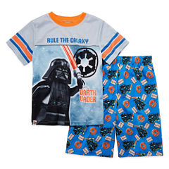 2pc. Darth Vader Lego Kids Pajama Set Boys