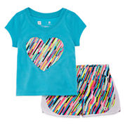 Xersion Girls 2-pc. Running Short Set